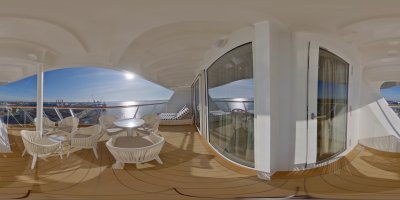 The Hven aft facing Penthouse with balcony 15876 Kat H6 Blick 5