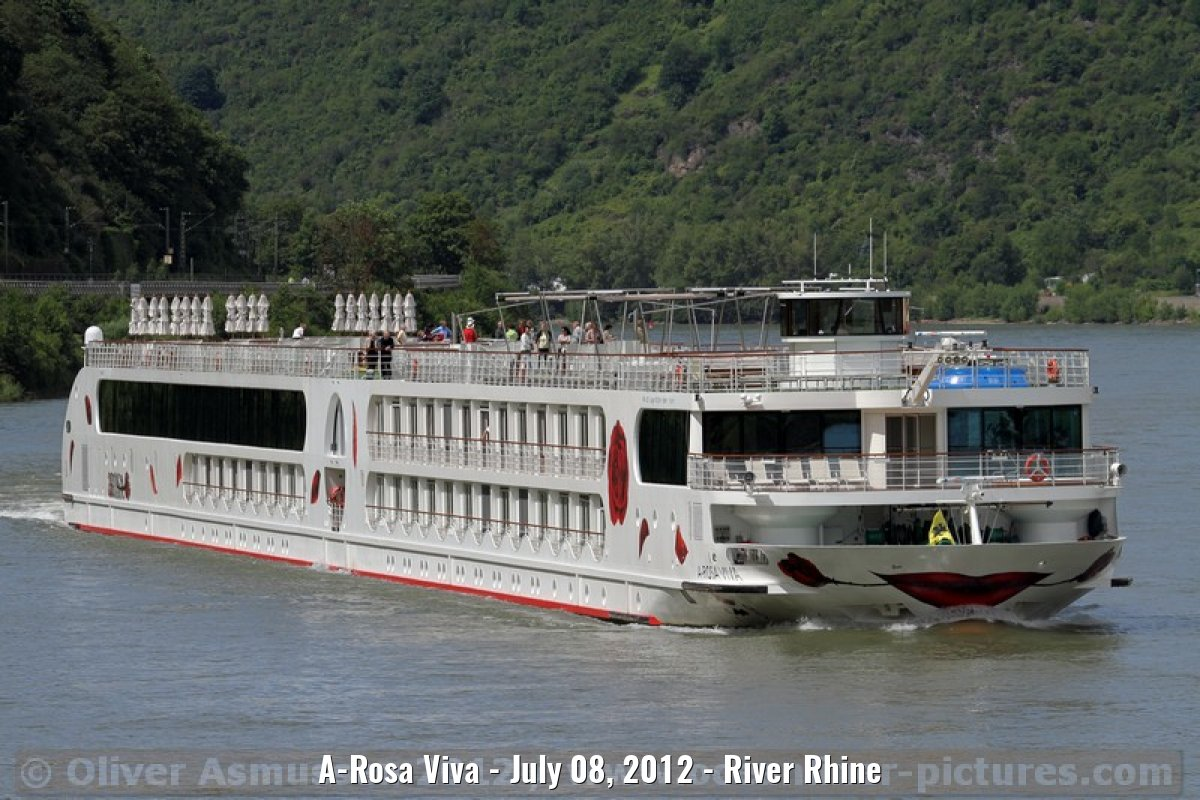 A-Rosa Viva - July 08, 2012 - River Rhine