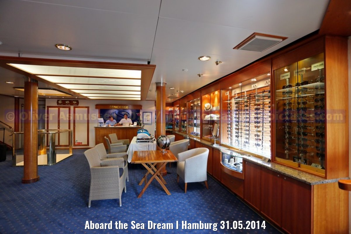 Aboard the Sea Dream I Hamburg 31.05.2014