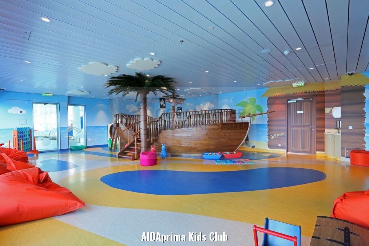 AIDAprima Kids Club