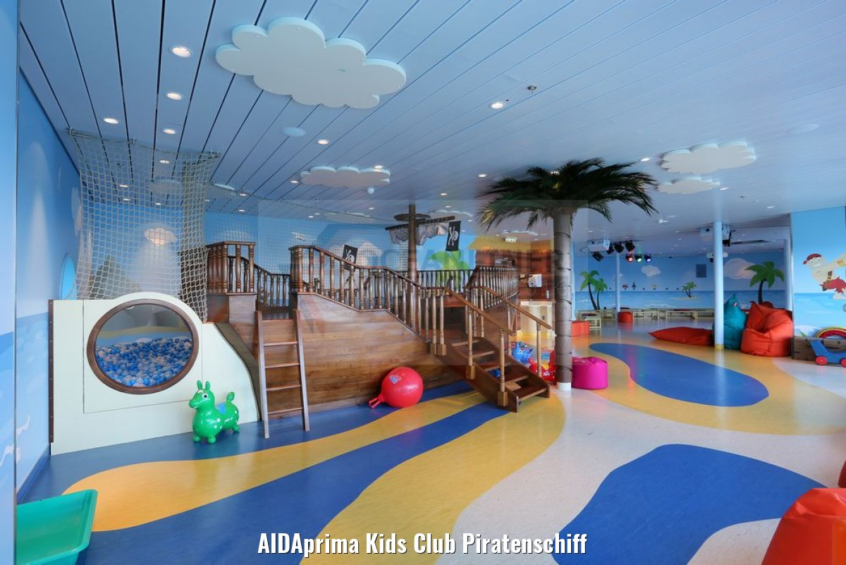 AIDAprima Kids Club Piratenschiff