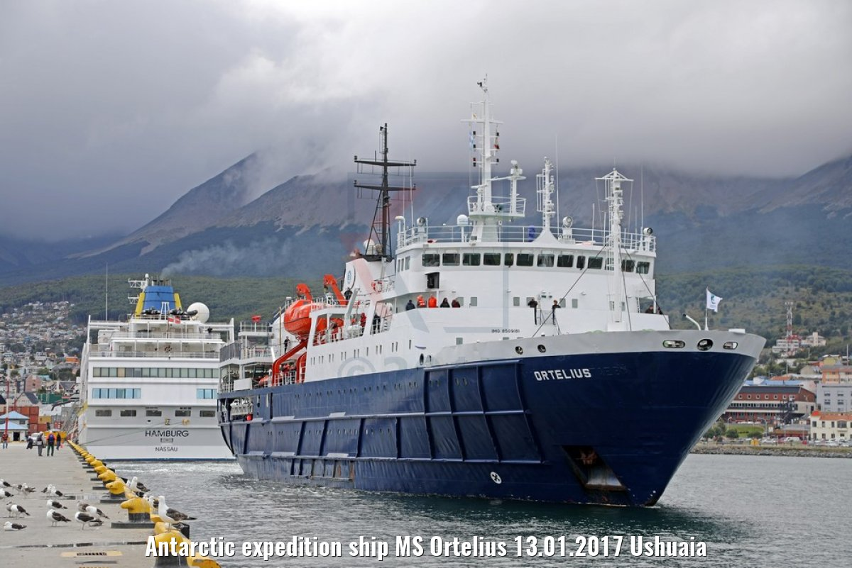 Antarctic expedition ship MS Ortelius 13.01.2017 Ushuaia