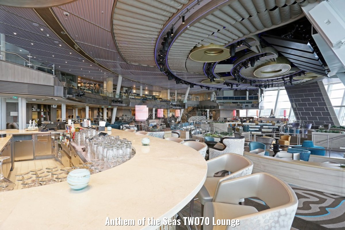 Anthem of the Seas TWO70 Lounge
