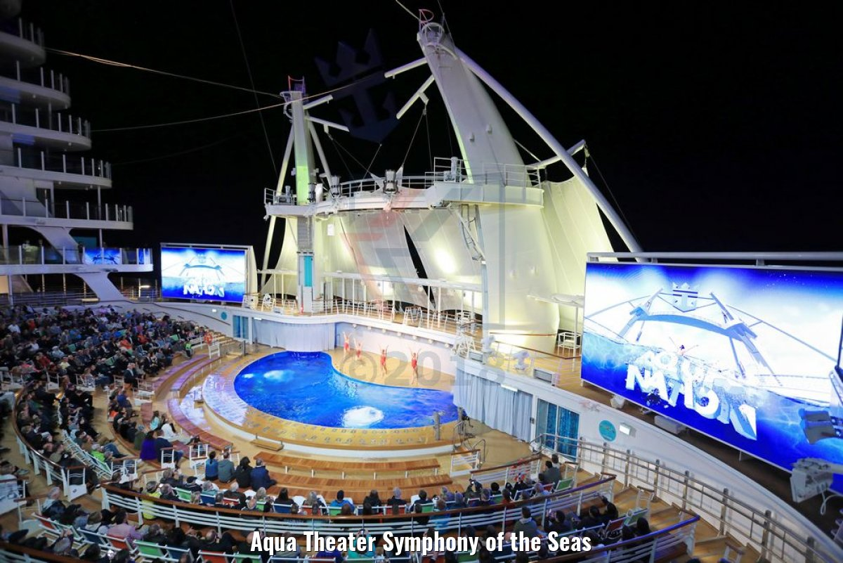 Aqua Theater Symphony of the Seas