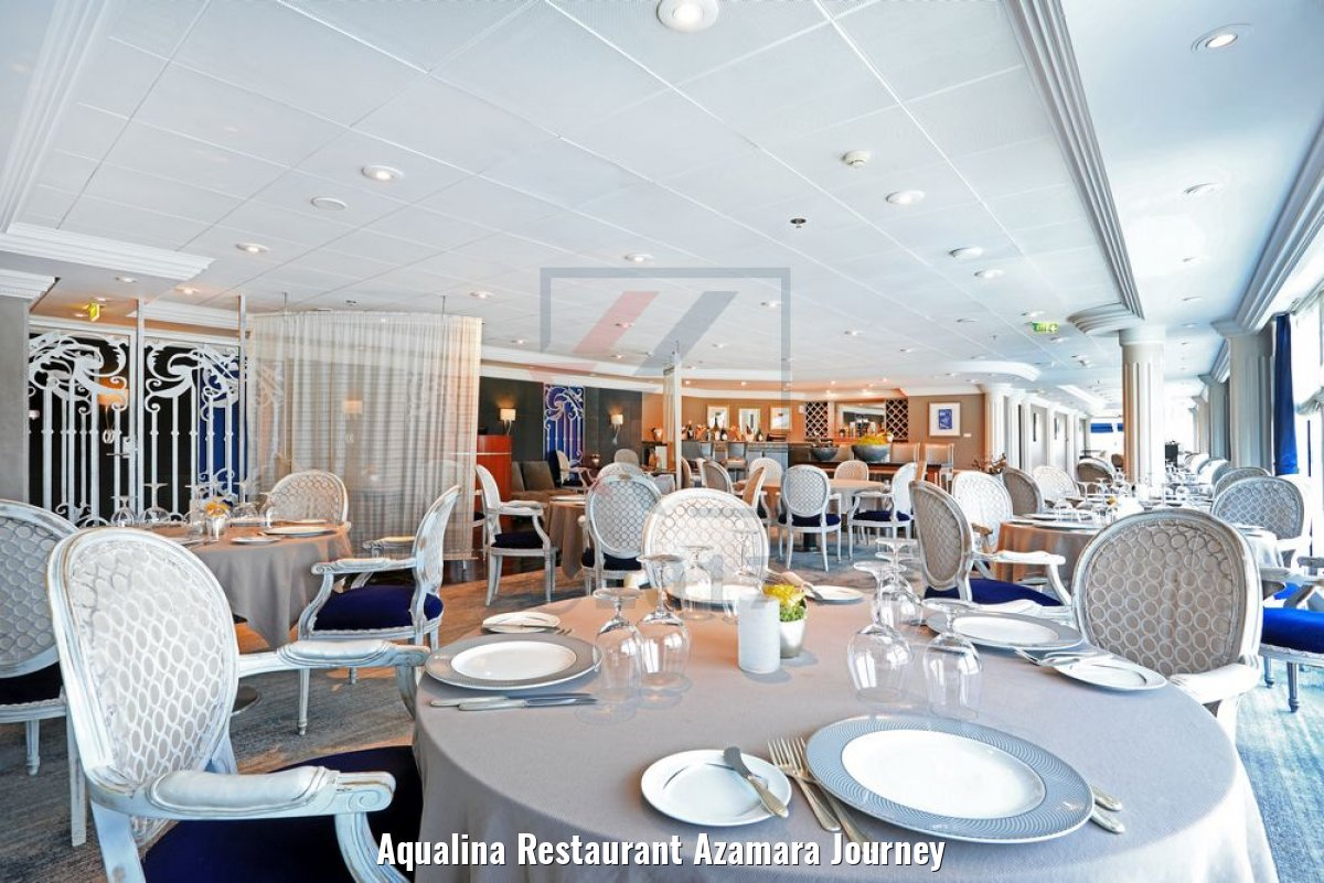 Aqualina Restaurant Azamara Journey