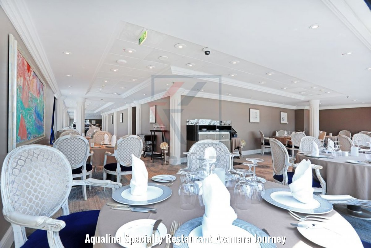 Aqualina Specialty Restaurant Azamara Journey