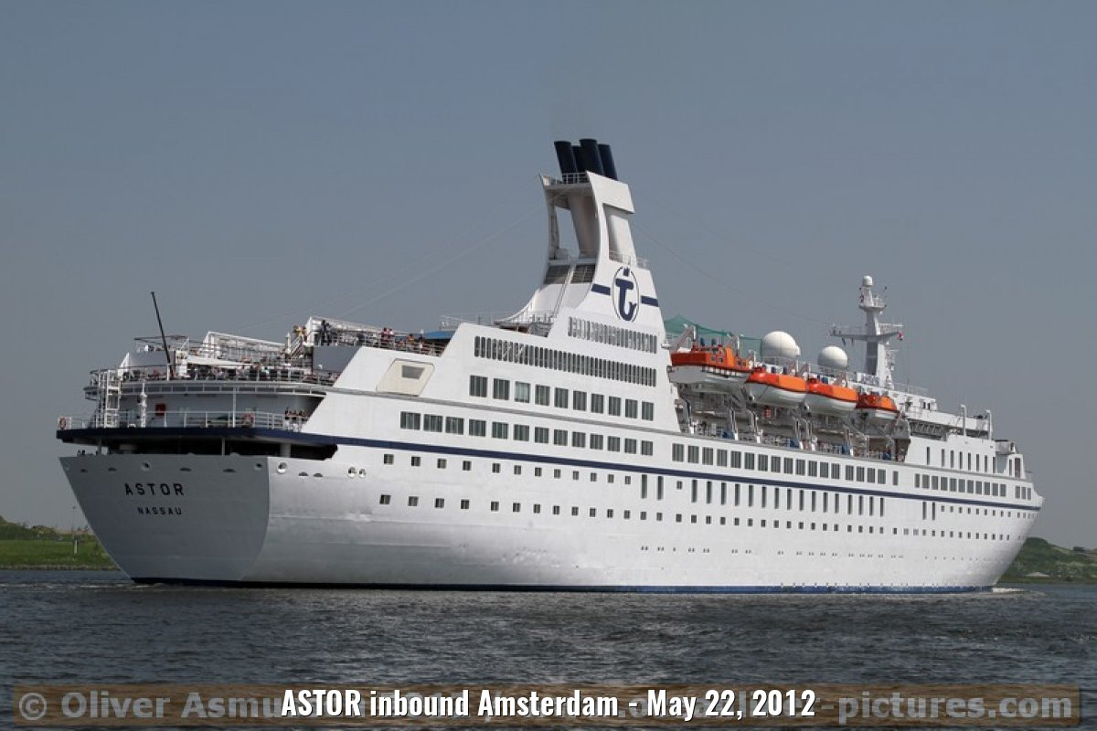 ASTOR inbound Amsterdam - May 22, 2012