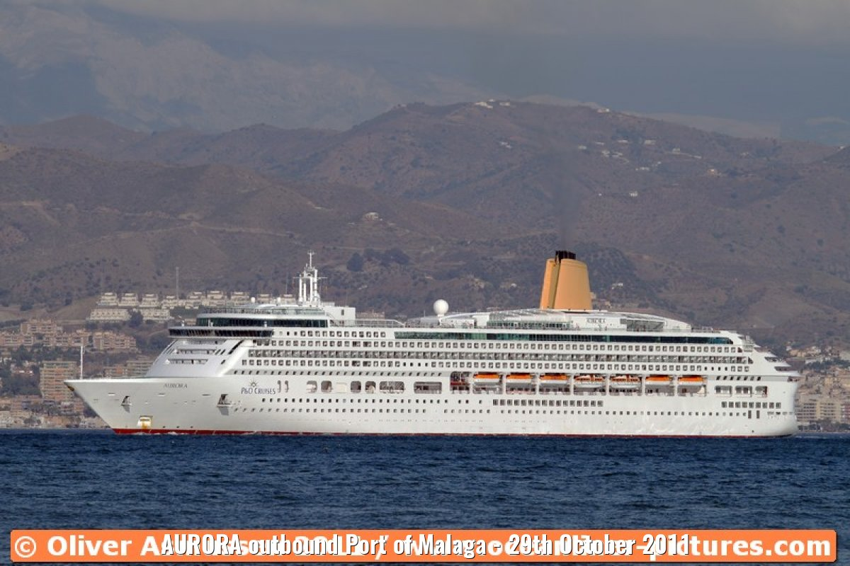 AURORA outbound Port of Malaga - 29th October 2011