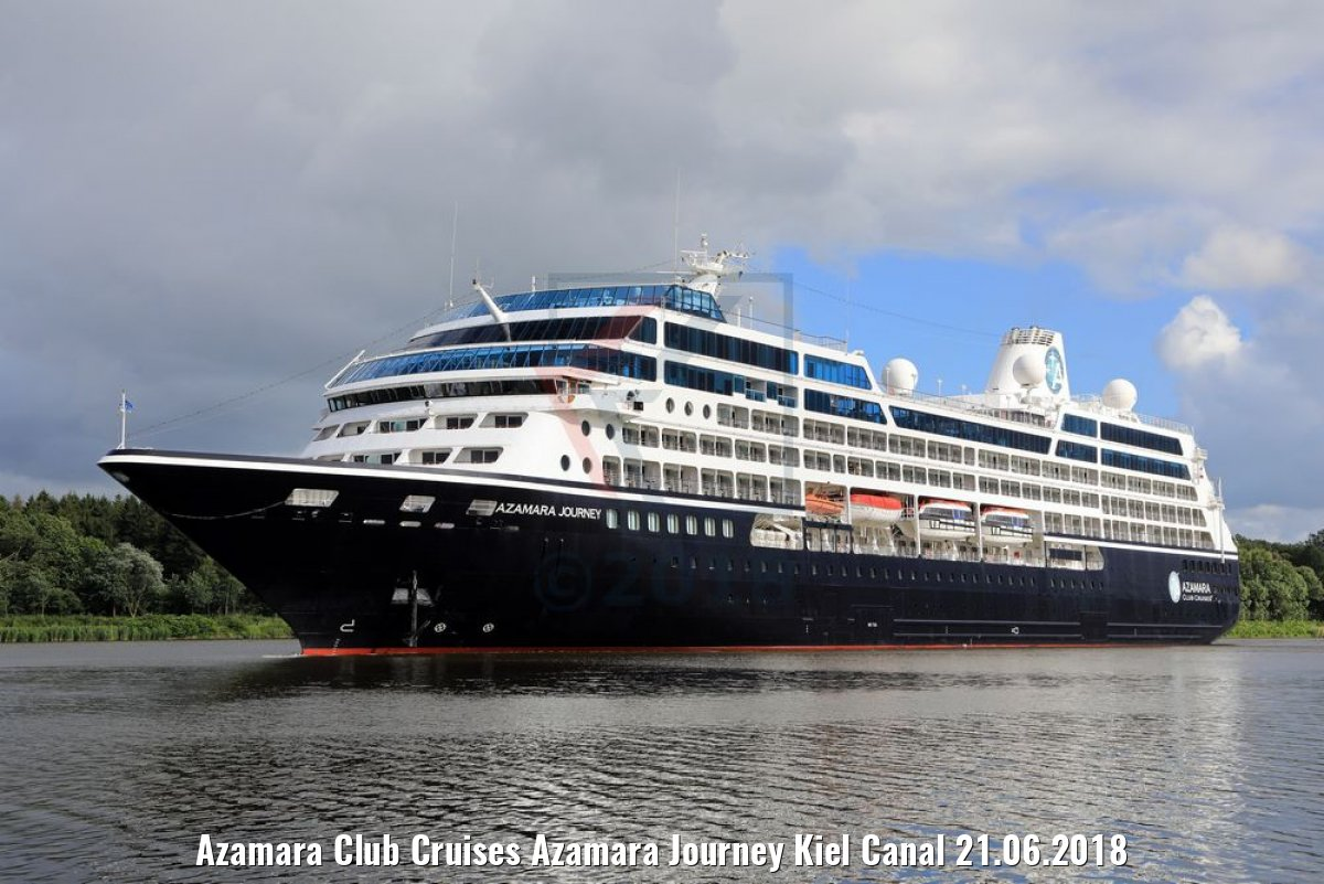 Azamara Club Cruises Azamara Journey Kiel Canal 21.06.2018