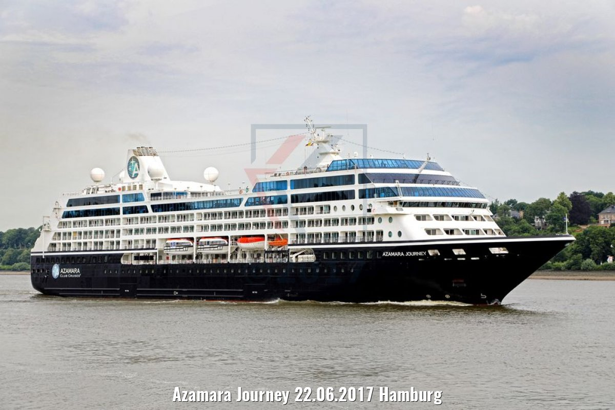 Azamara Journey 22.06.2017 Hamburg