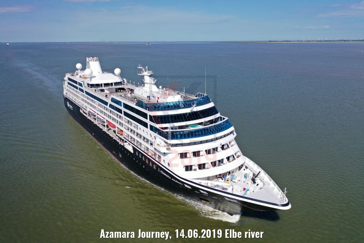 Azamara Journey, 14.06.2019 Elbe river