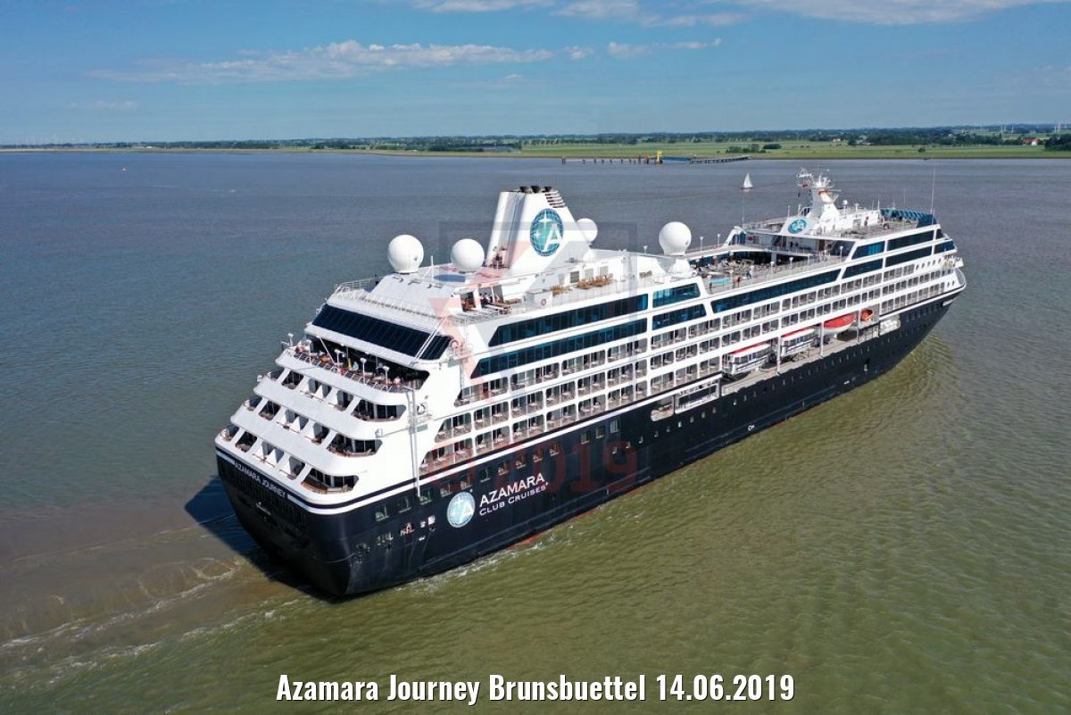 Azamara Journey Brunsbuettel 14.06.2019
