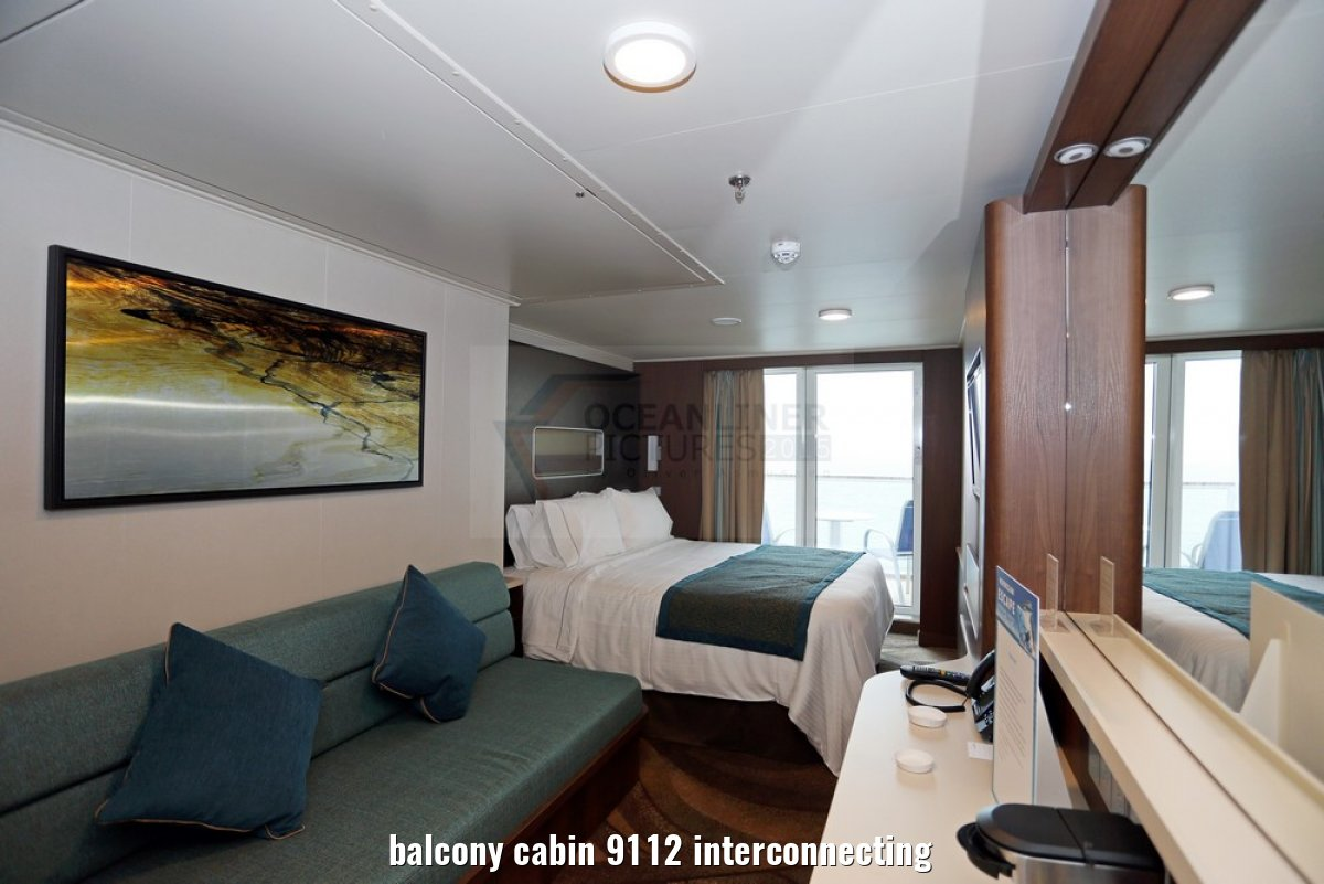 balcony cabin 9112 interconnecting