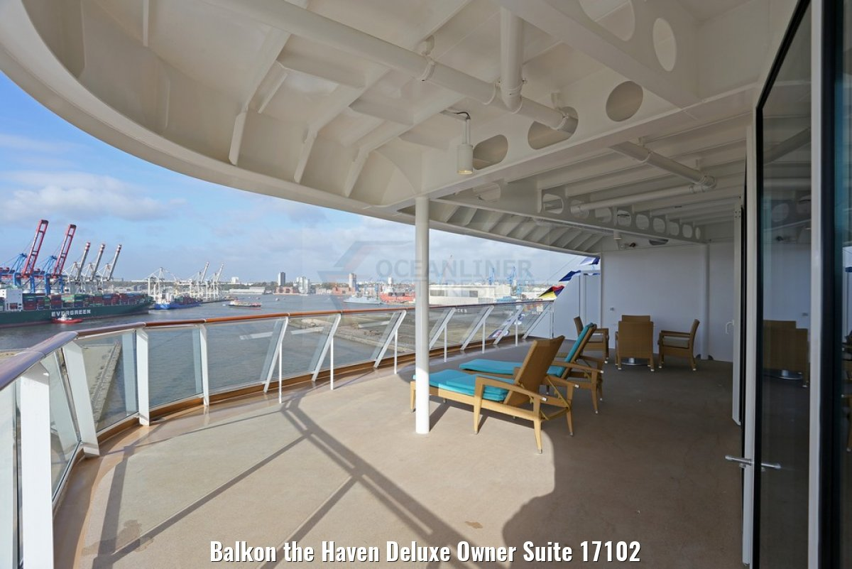 Balkon the Haven Deluxe Owner Suite 17102