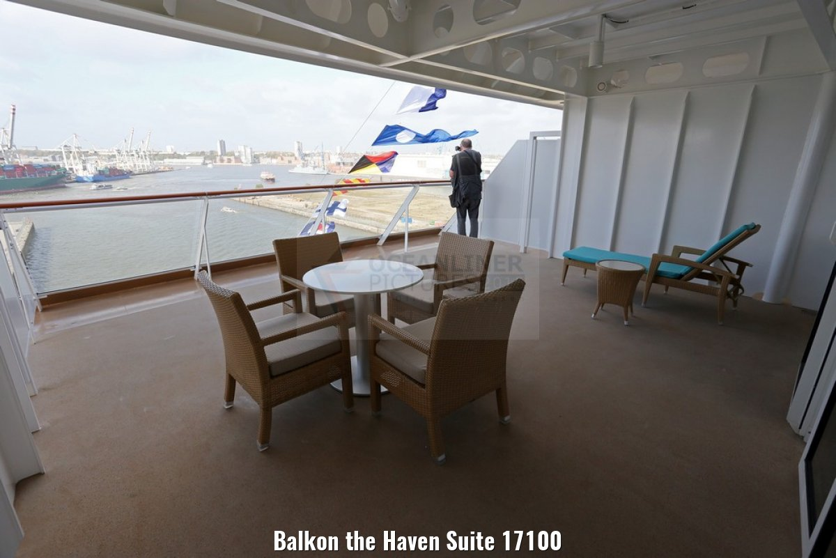 Balkon the Haven Suite 17100