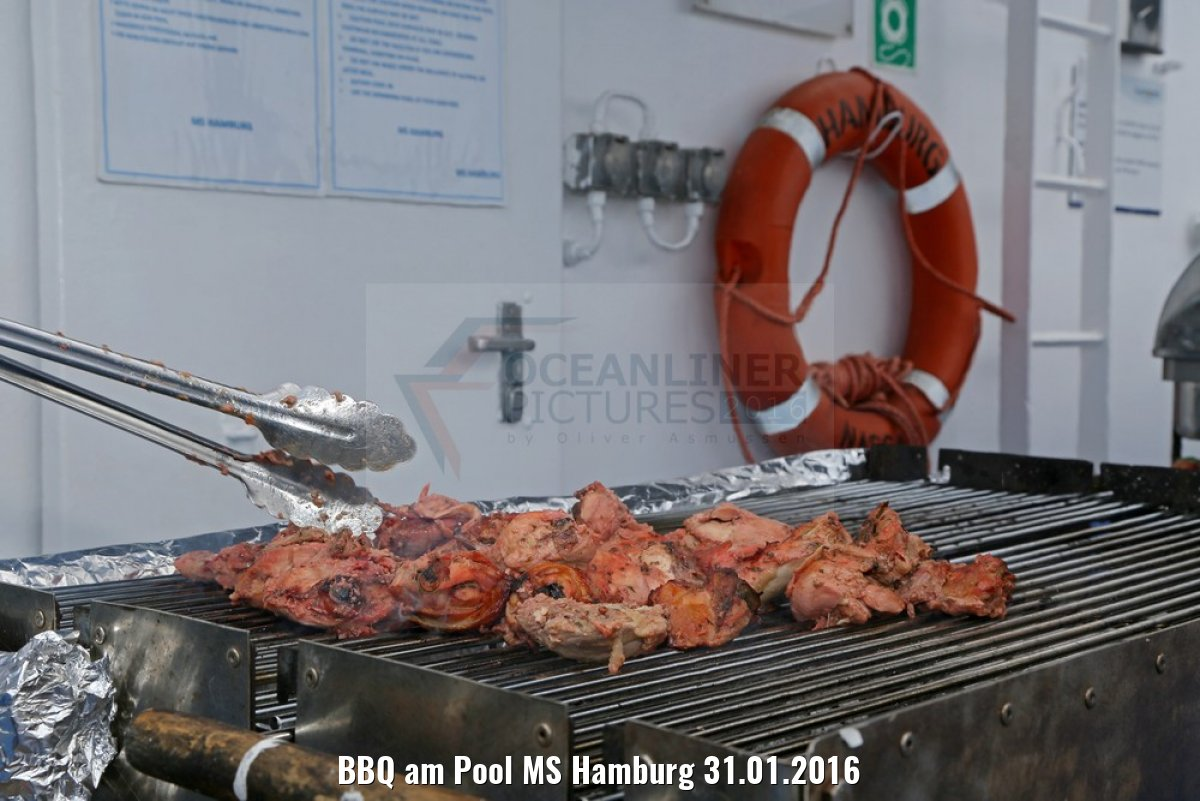 BBQ am Pool MS Hamburg 31.01.2016