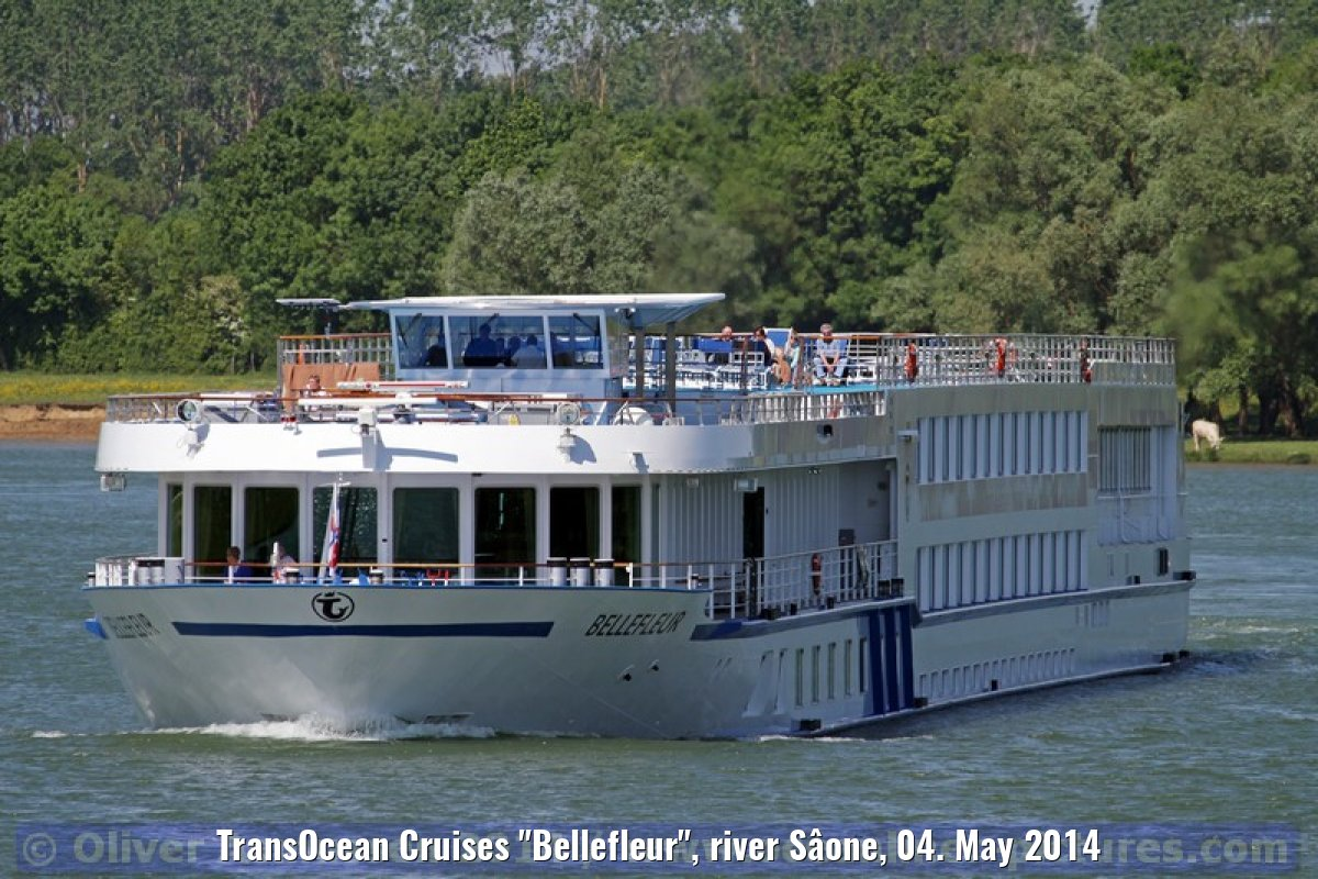 "TransOcean Cruises ""Bellefleur"", river Sâone, 04. May 2014"