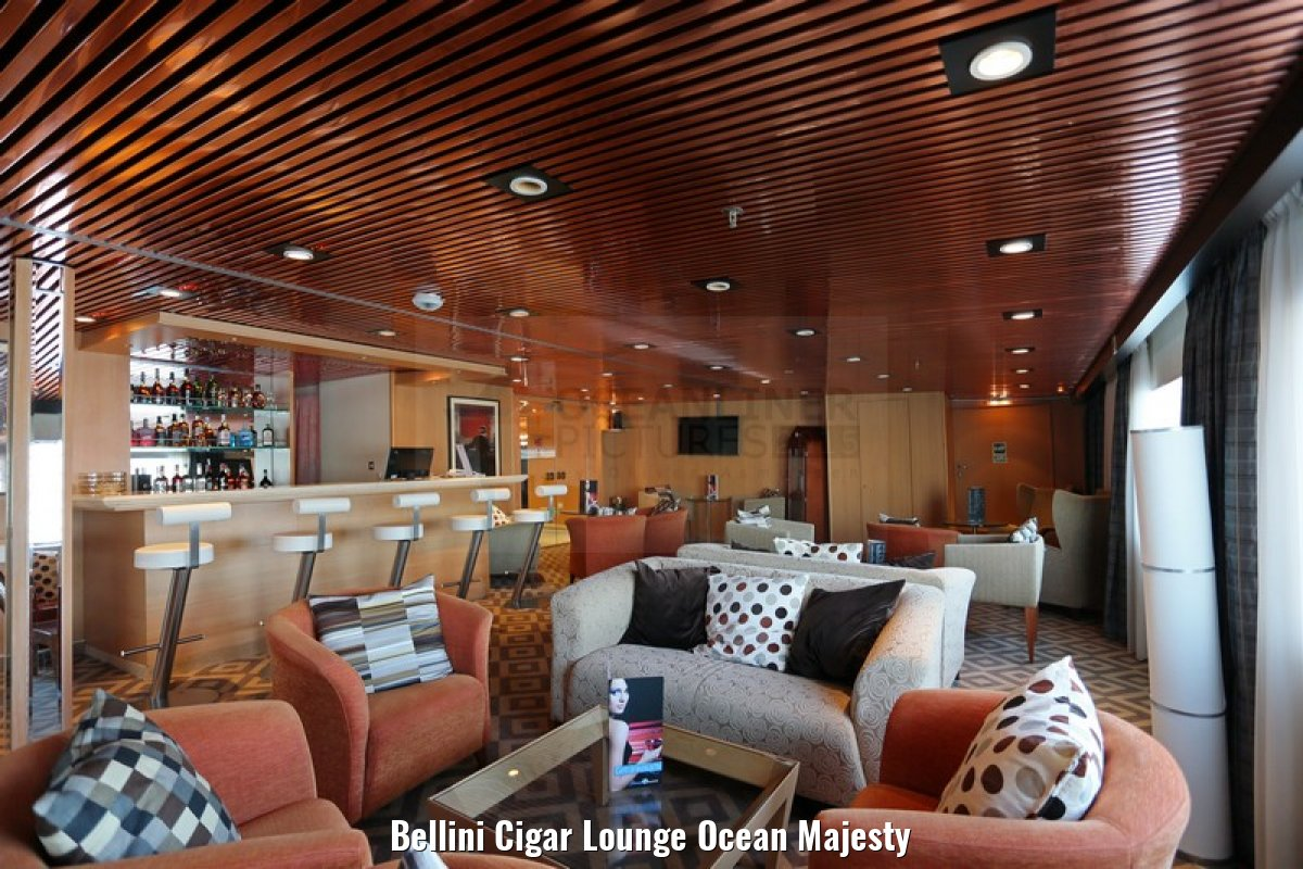 Bellini Cigar Lounge Ocean Majesty