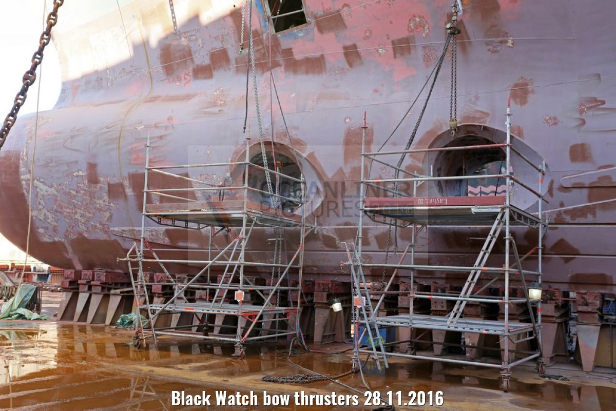 Black Watch bow thrusters 28.11.2016