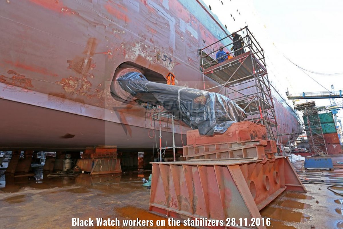 Black Watch workers on the stabilizers 28.11.2016