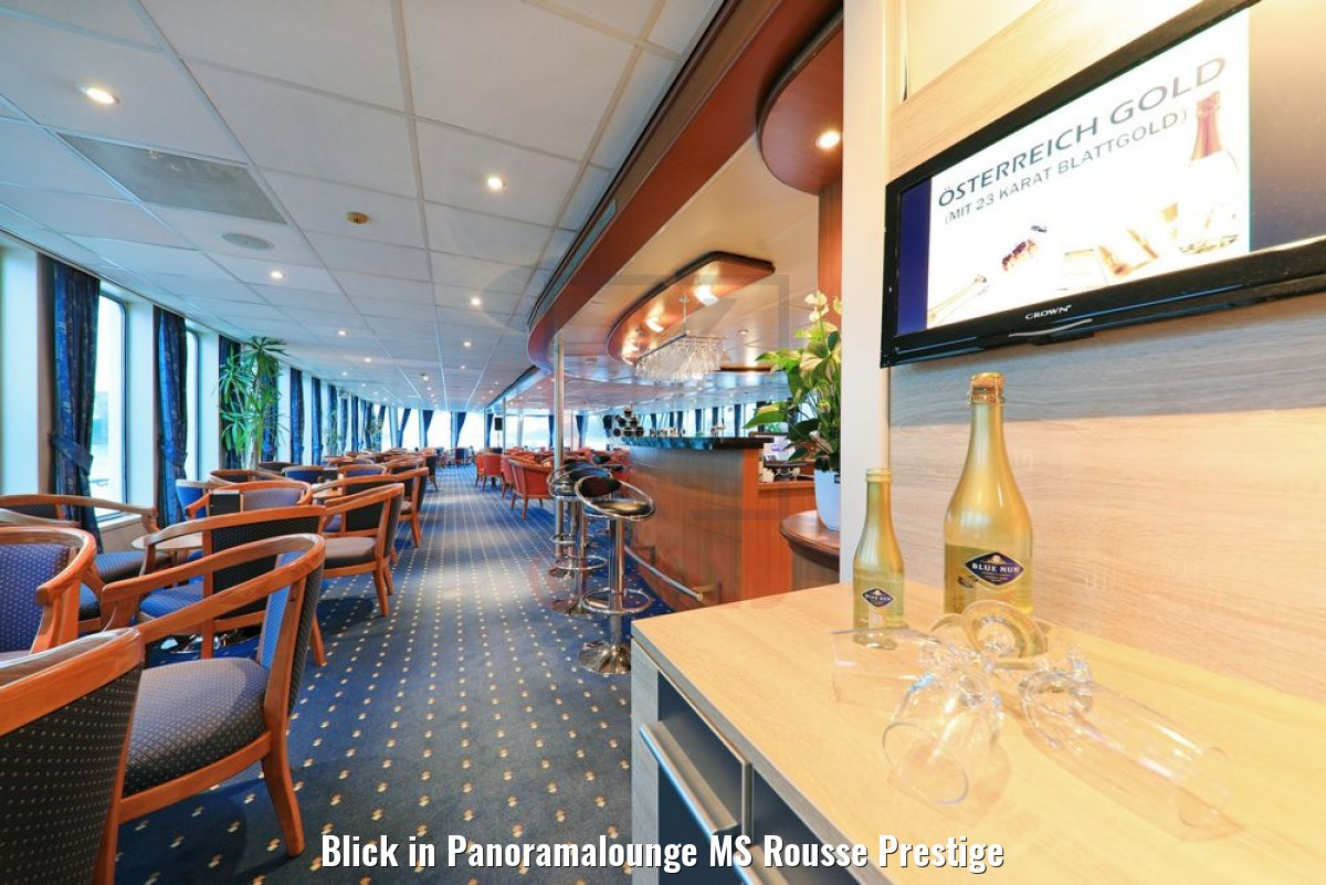 Blick in Panoramalounge MS Rousse Prestige