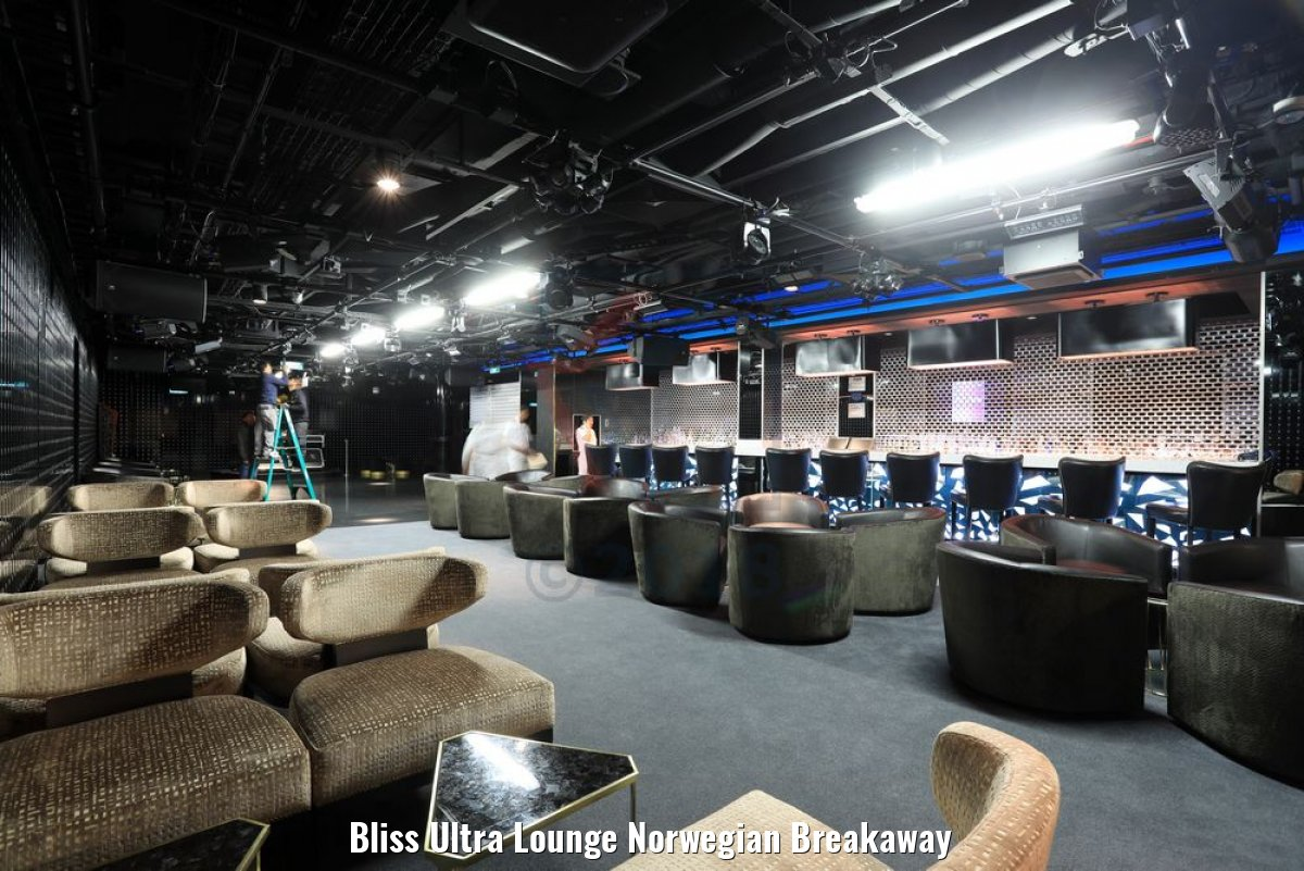 Bliss Ultra Lounge Norwegian Breakaway
