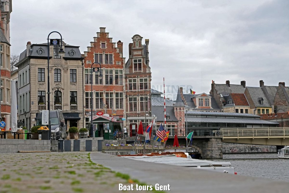 Boat tours Gent