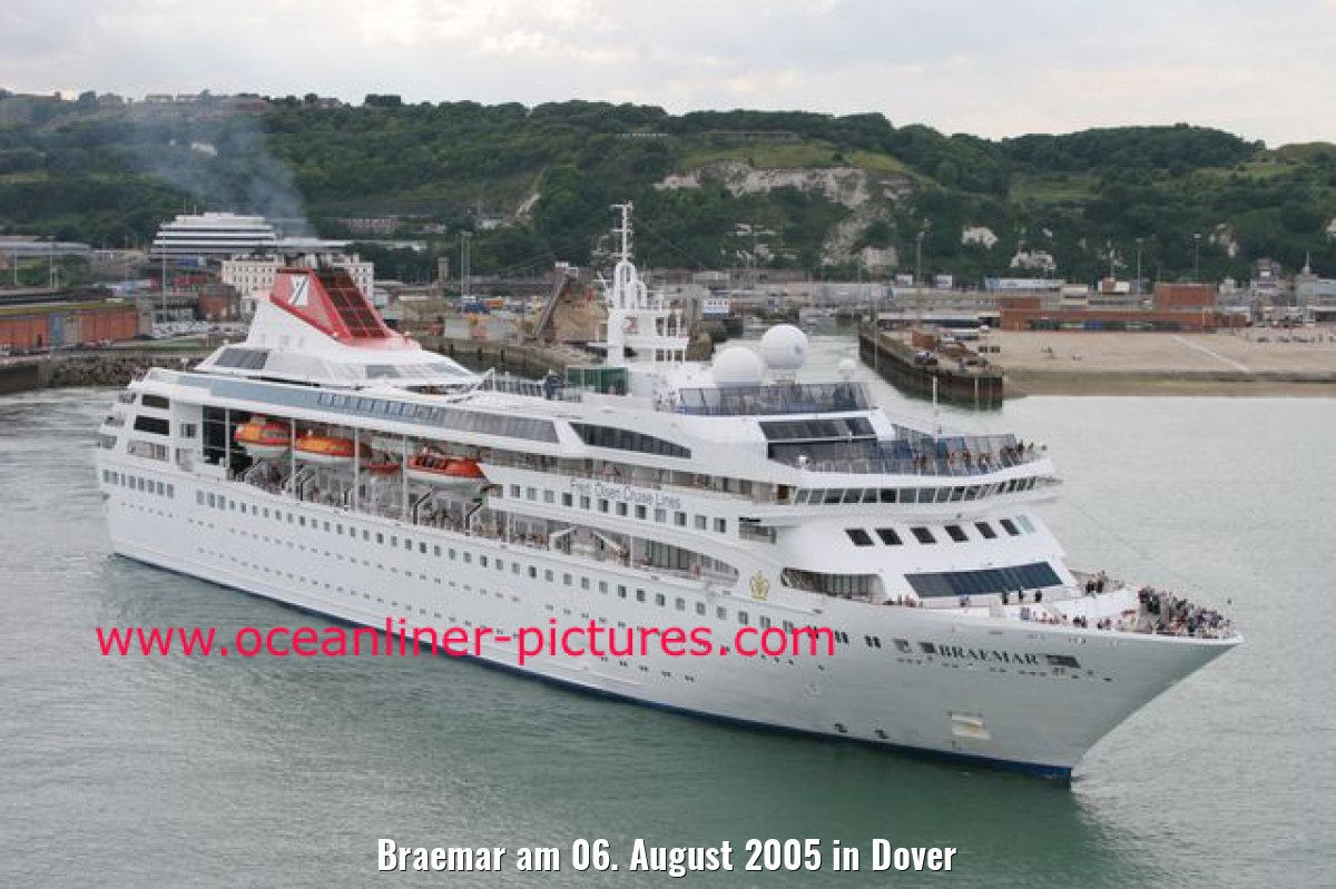 Braemar am 06. August 2005 in Dover