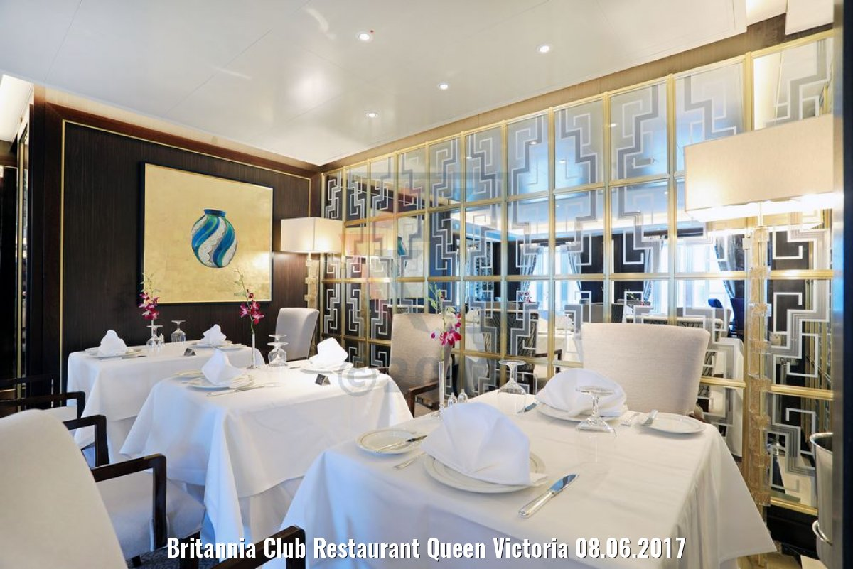 Britannia Club Restaurant Queen Victoria 08.06.2017