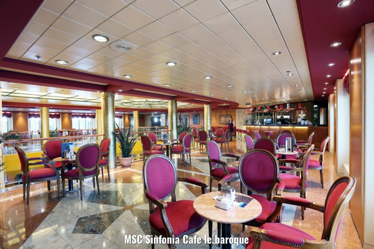 MSC Sinfonia Cafe le baroque