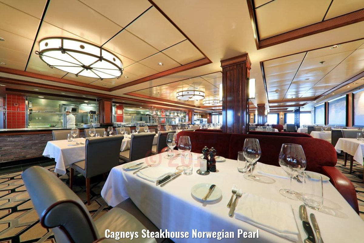 Cagneys Steakhouse Norwegian Pearl