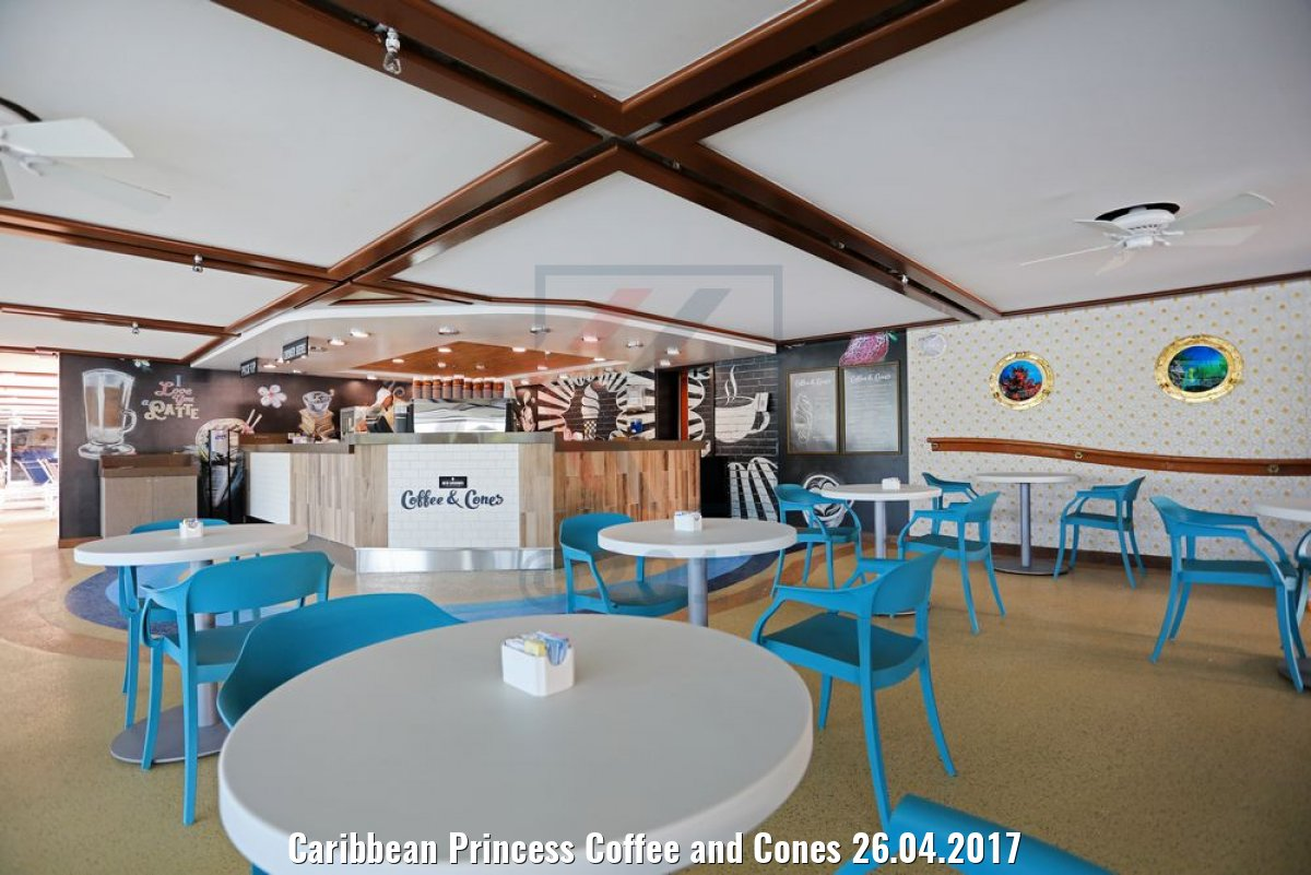 Caribbean Princess Coffee and Cones 26.04.2017