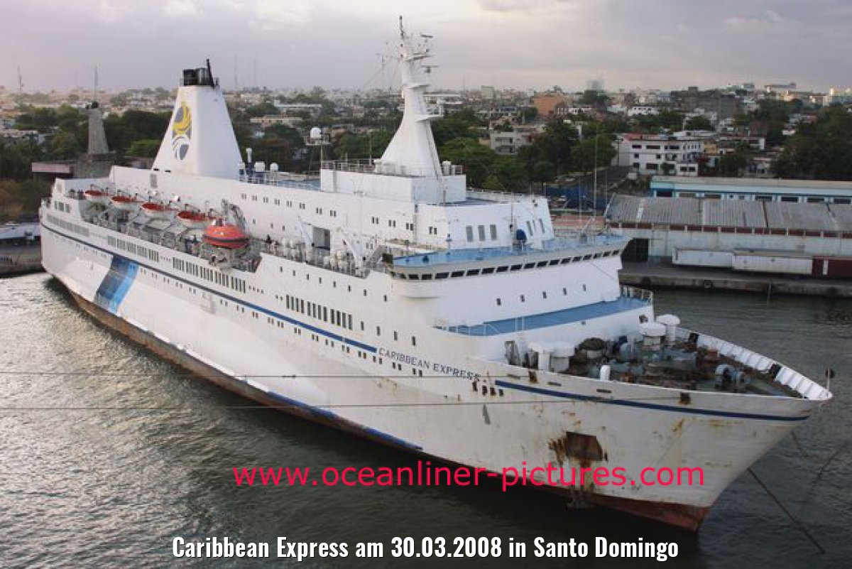 Caribbean Express am 30.03.2008 in Santo Domingo