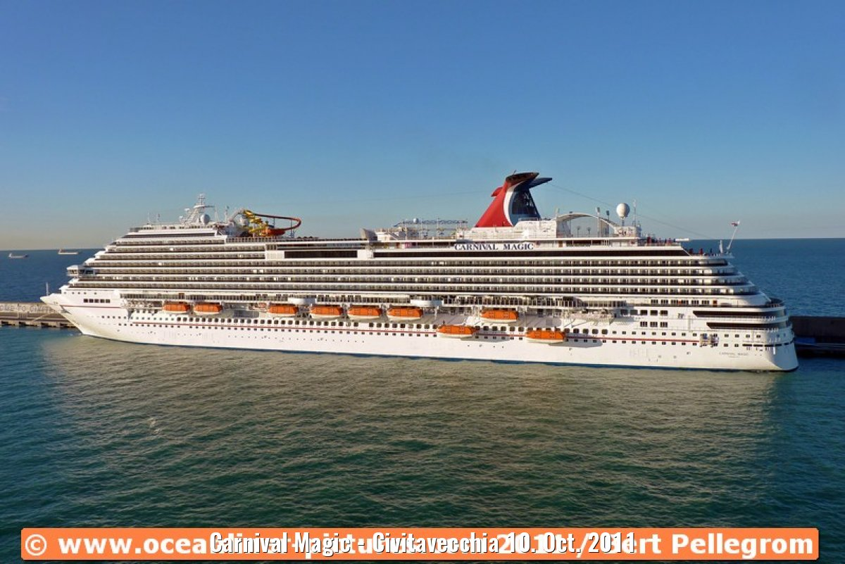 Carnival Magic - Civitavecchia 10. Oct. 2011