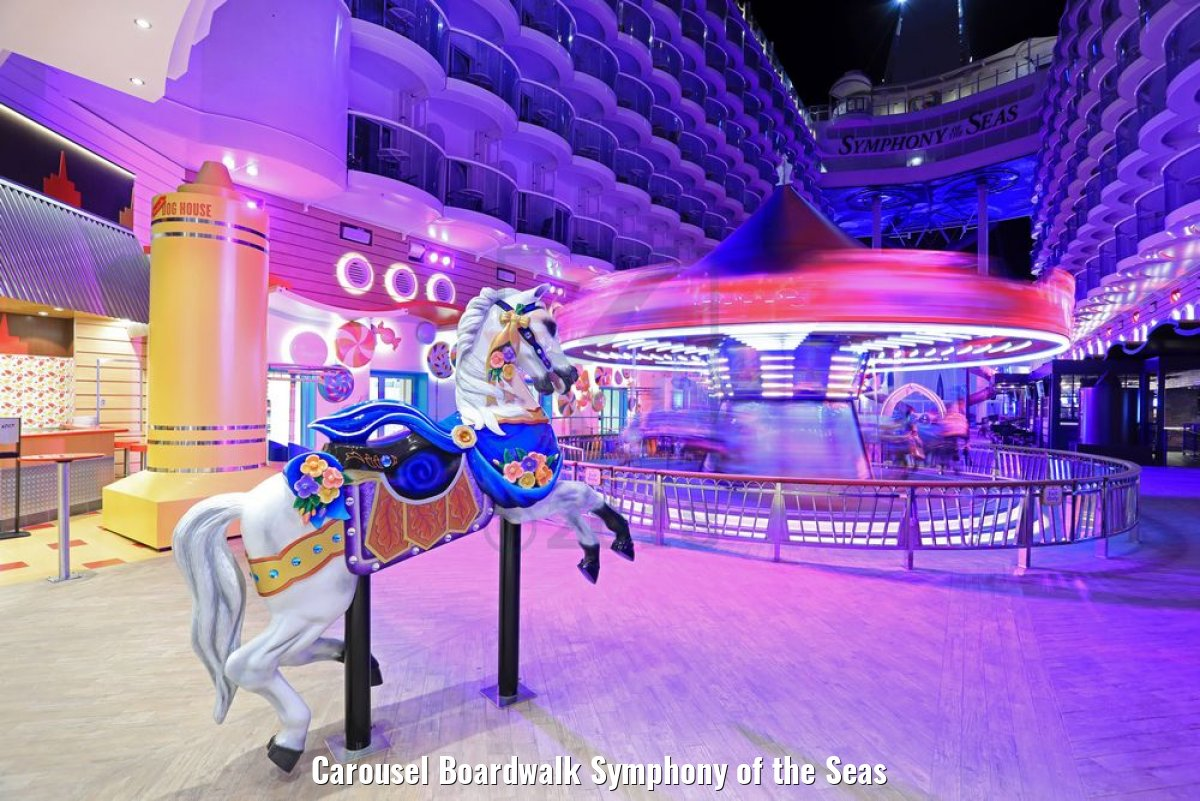 Carousel Boardwalk Symphony of the Seas