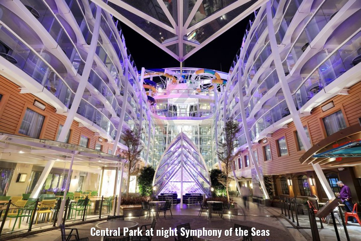 Central Park at night Symphony of the Seas