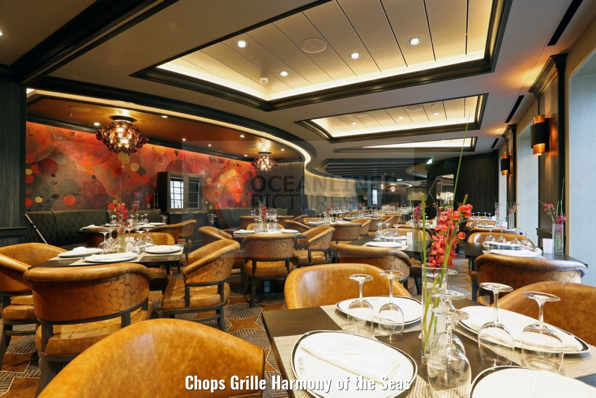 Chops Grille Harmony of the Seas