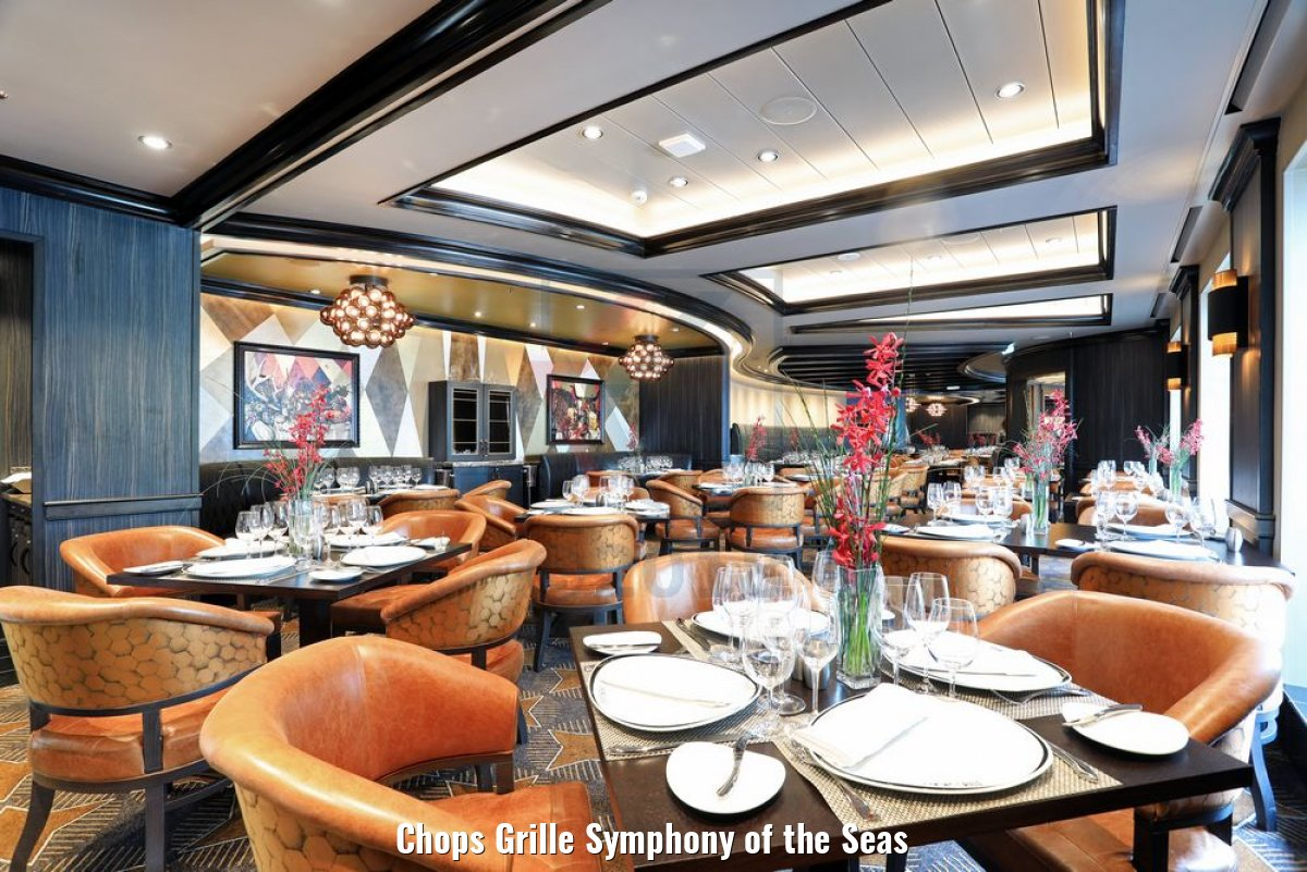 Chops Grille Symphony of the Seas