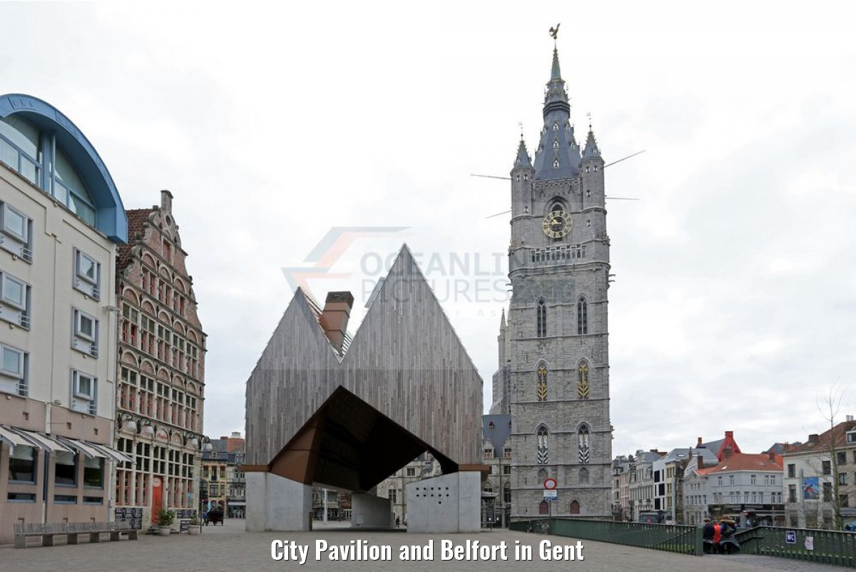 City Pavilion and Belfort in Gent