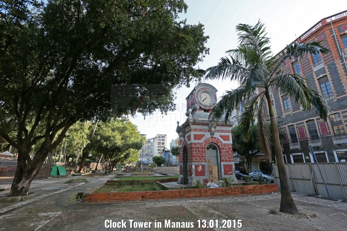 Clock Tower in Manaus 13.01.2015