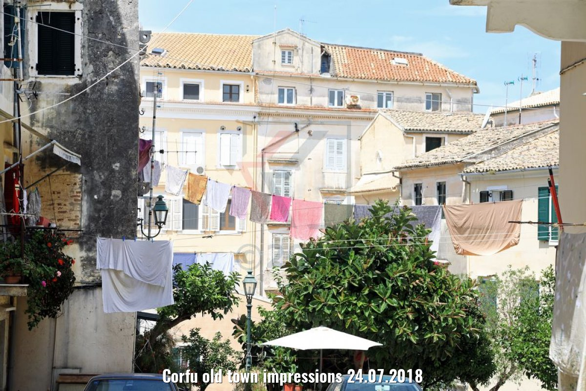 Corfu old town impressions 24.07.2018