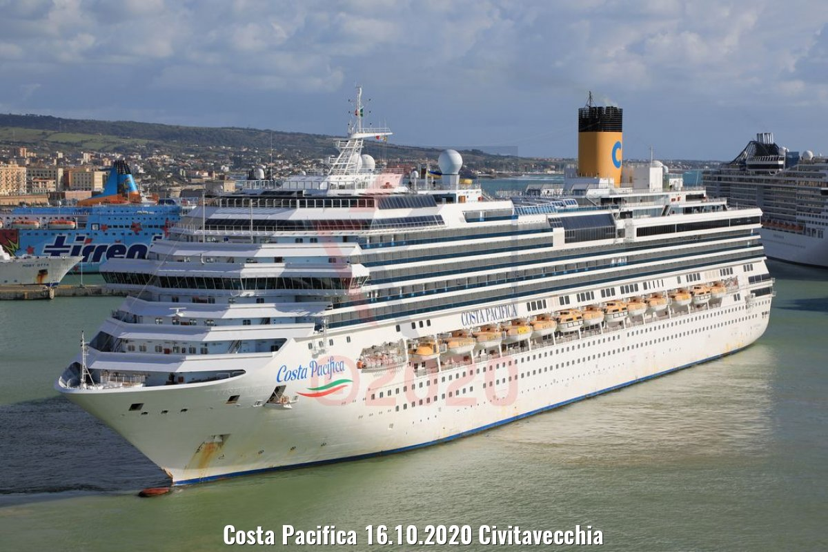 Costa Pacifica 16.10.2020 Civitavecchia