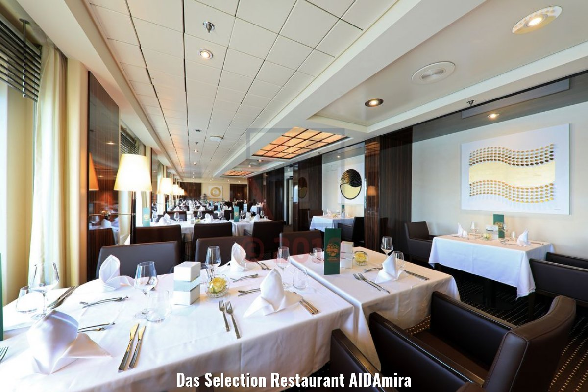 Das Selection Restaurant AIDAmira