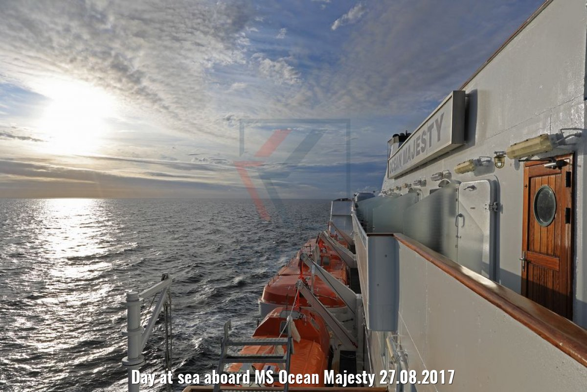 Day at sea aboard MS Ocean Majesty 27.08.2017