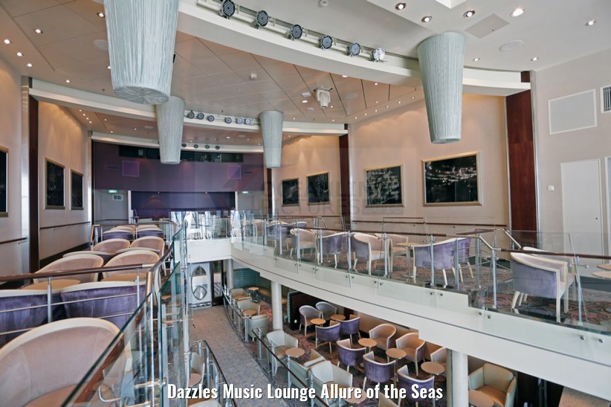 Dazzles Music Lounge Allure of the Seas