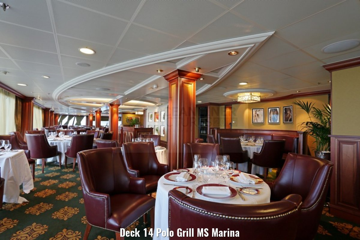 Deck 14 Polo Grill MS Marina