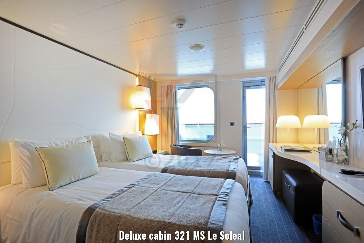 Deluxe cabin 321 MS Le Soleal