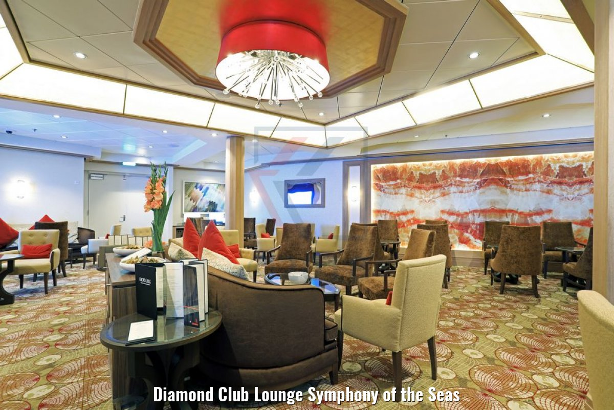 Diamond Club Lounge Symphony of the Seas