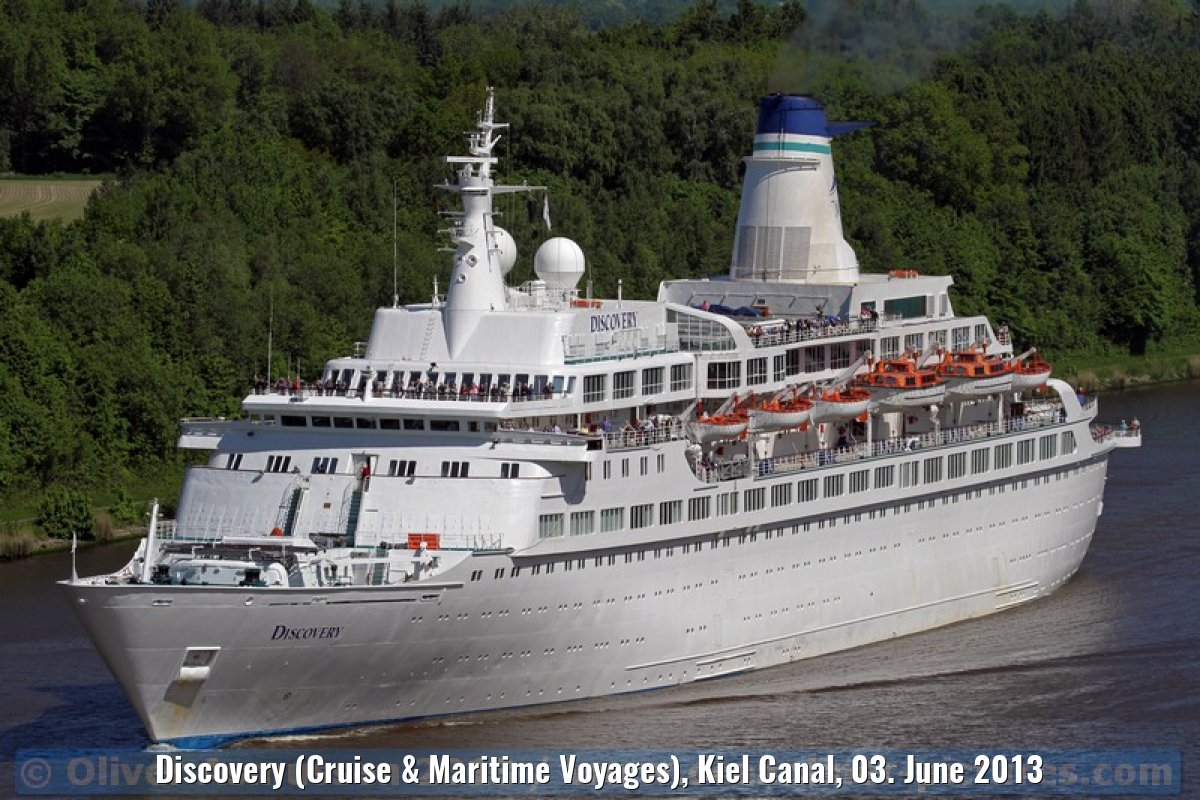 Discovery (Cruise & Maritime Voyages), Kiel Canal, 03. June 2013
