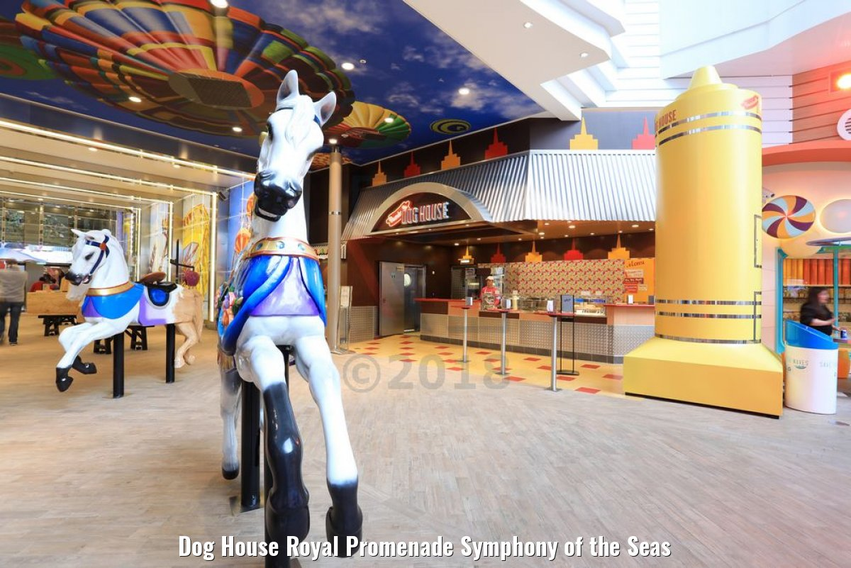 Dog House Royal Promenade Symphony of the Seas